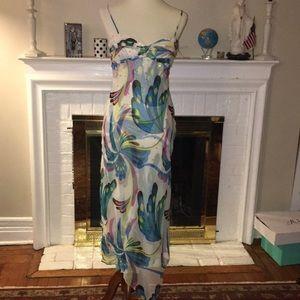 Bcbg maxazria cocktail clear sequins dress